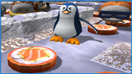 Hello, my name is Pengo, and I love Sushi.