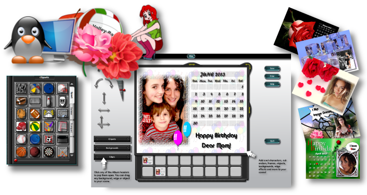Create beautiful collages with Image Dream
