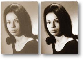 Restore old or damaged photographs
