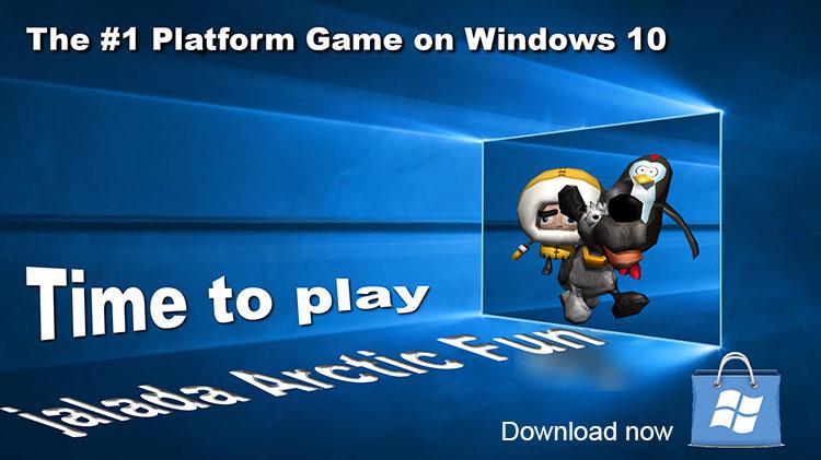 jalada Arctic Fun - The #1 Platform Game on Windows 10
