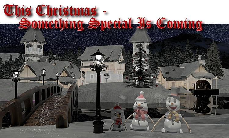 This Christmas - something special is coming