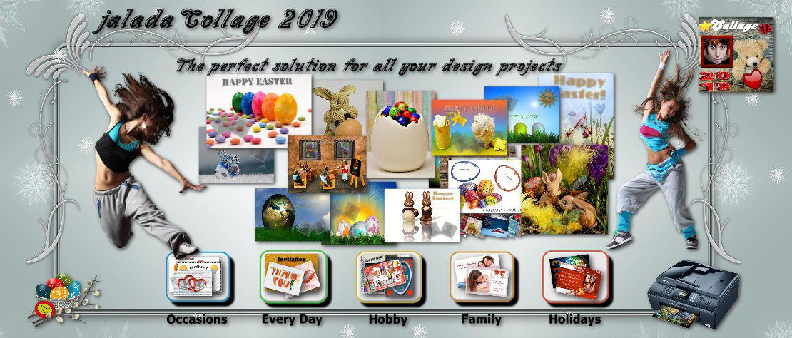 Collage the perfect app for your easter projects