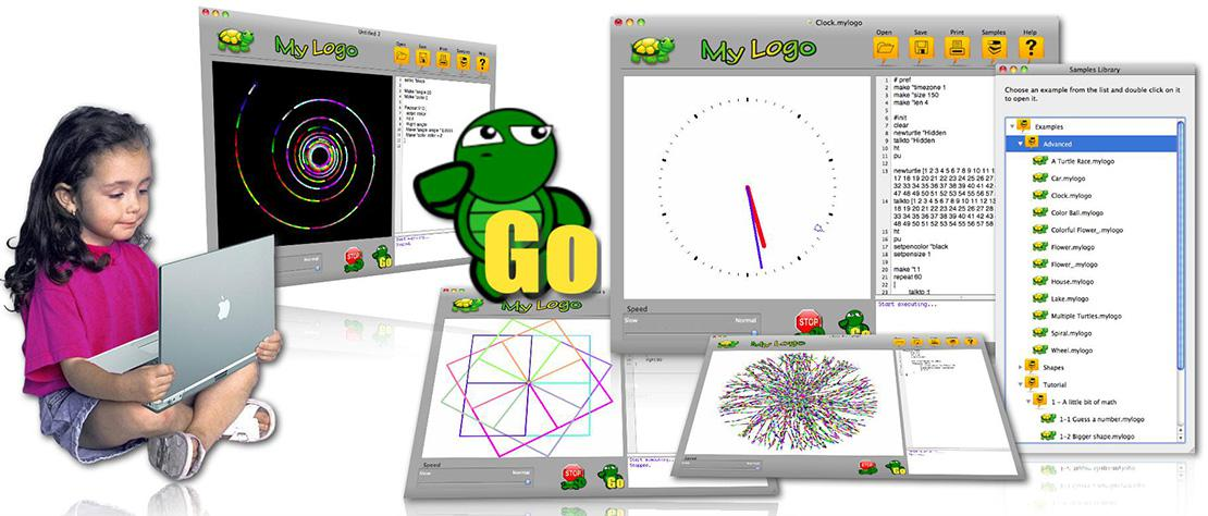 My Logo - The educational environment for teaching math, programming, geometry.