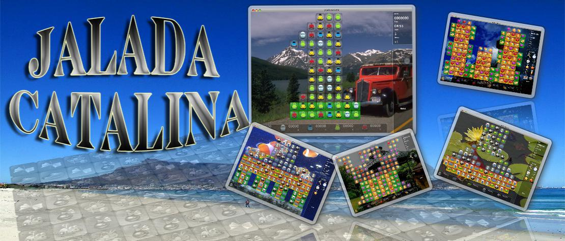 Catalina - The blend of a matching game and a brain-busting puzzle.