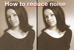 How to reduce noise with Image Dream