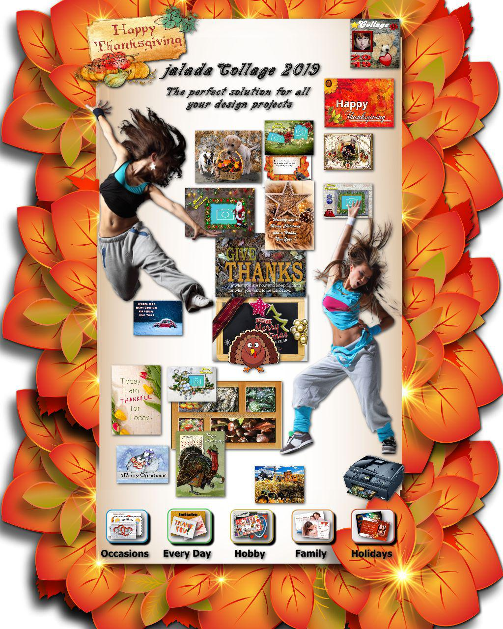 jalada Collage - The perfect App for Thanksgiving