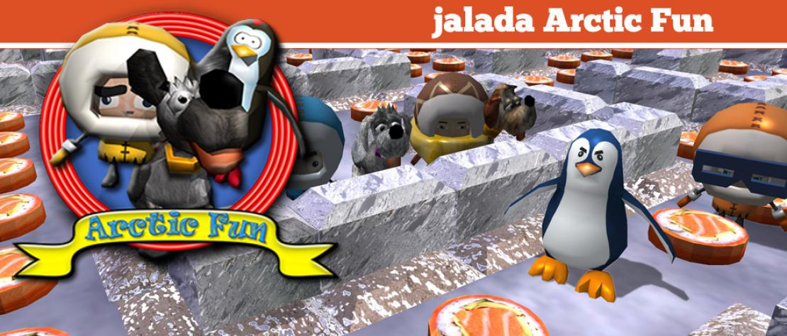 jalada Arctic Fun - Get ready for an exciting action-packed adventure through amazing mazes.