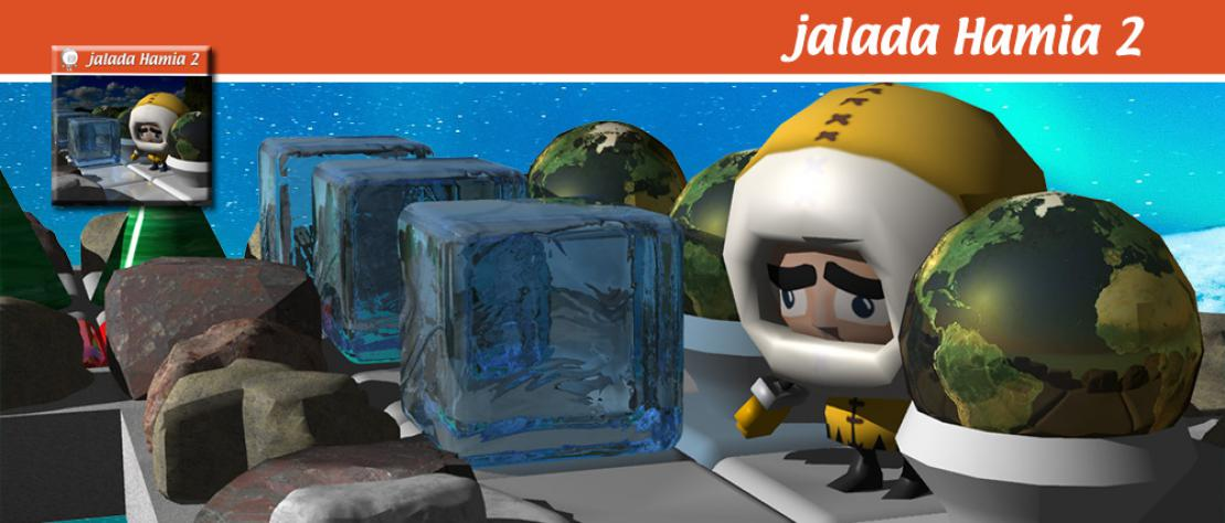 jalada Hamia 2 - The best free 3D Sokoban styled puzzle game for hours of great fun.