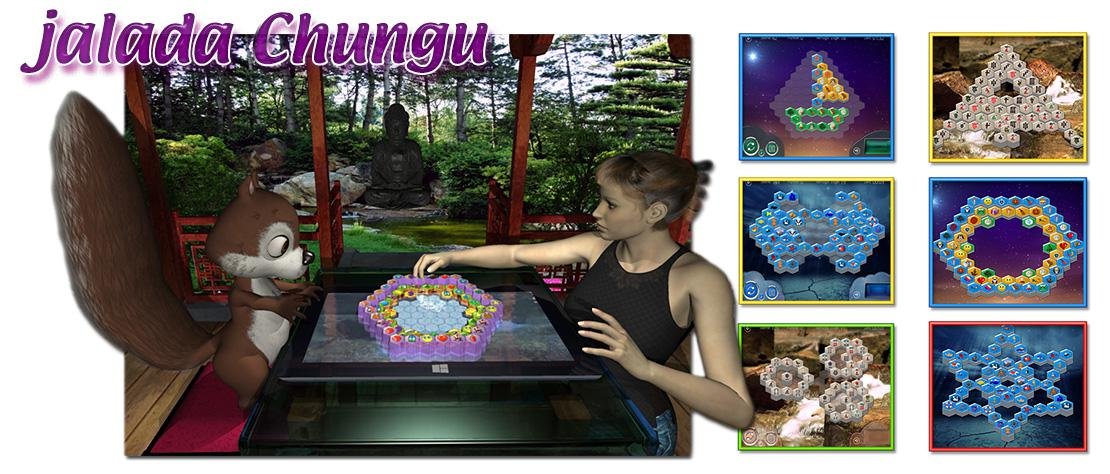 jalada Chungu - The great puzzle game to train your skill, intelligence and perception.